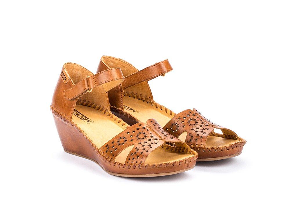 Hnedé sandále pikolinos MARG 943 1691 PK BRANDY