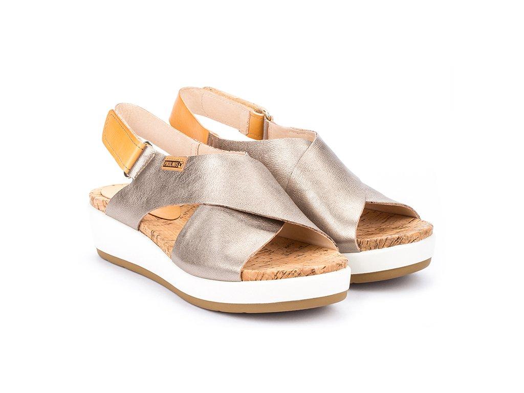 Sandále pikolinos MYKO W1G 0757CL PK STONE