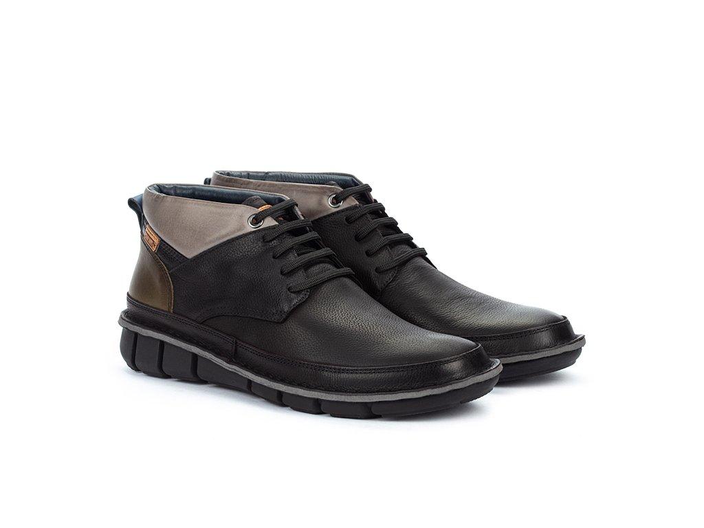 Vychádzková obuv Pikolinos  TUDELA M6J-8195NW BLACK