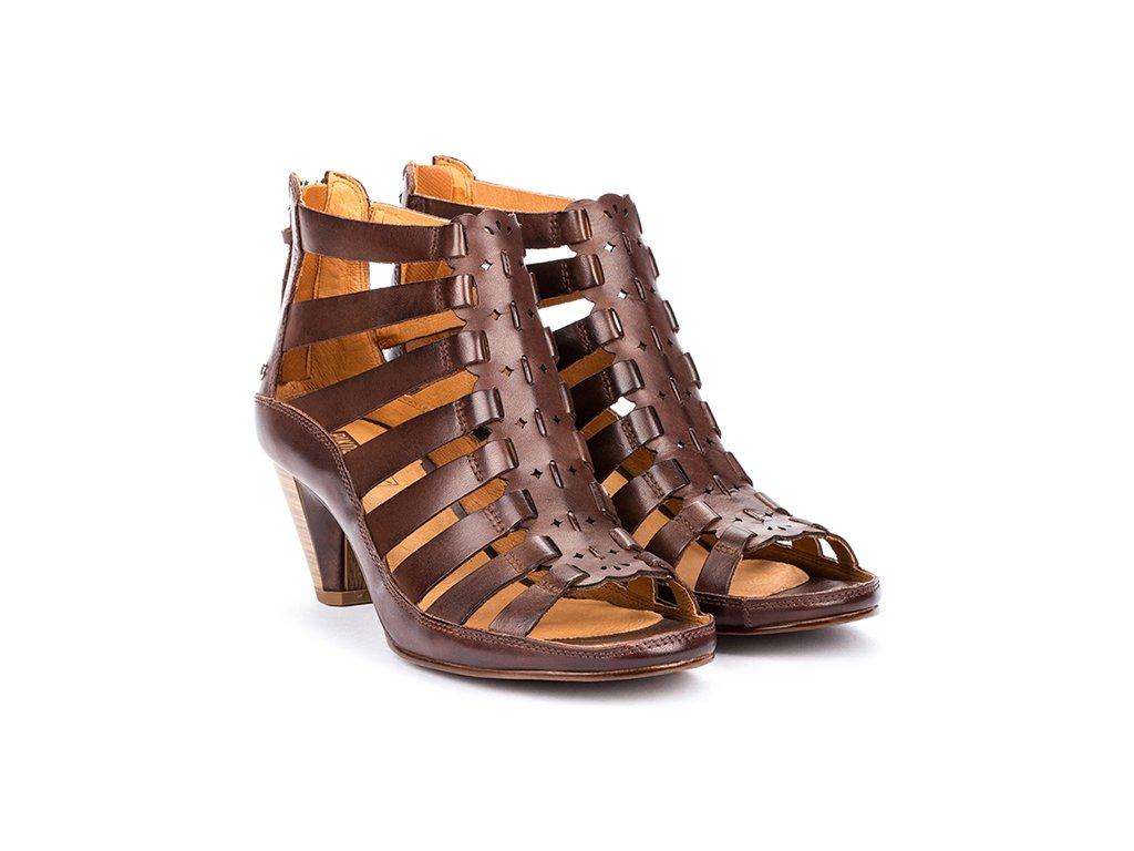 Hnedé sandále JAVA W5A 1701 PK OLMO