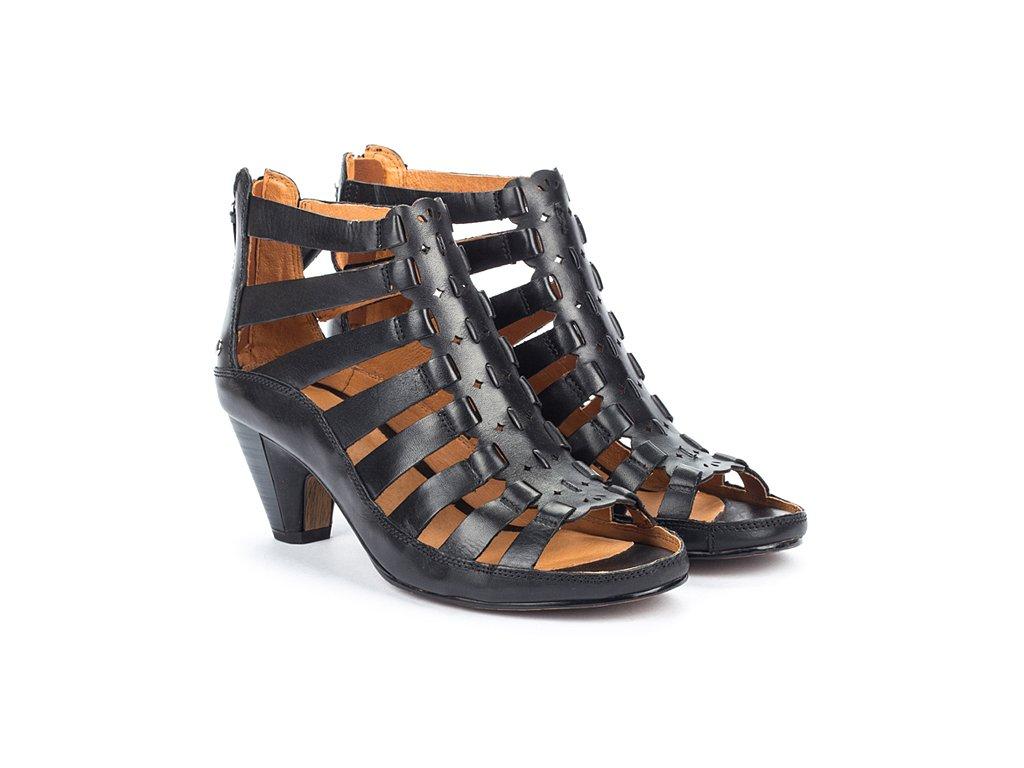 Čierne sandále JAVA W5A 1701 PK BLACK