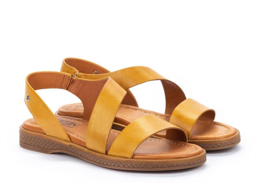 Sandále Pikolinos mora w4e 0834 pk honey big