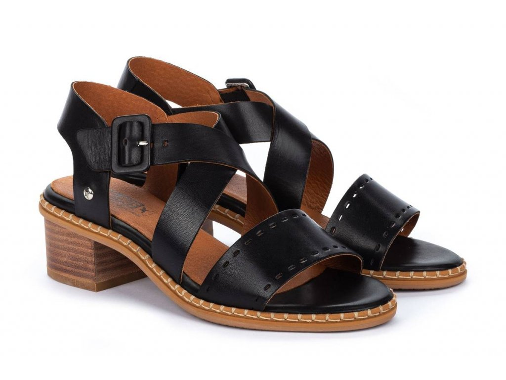 Sandále Pikolinos BLANES W3H-1892 BLACK