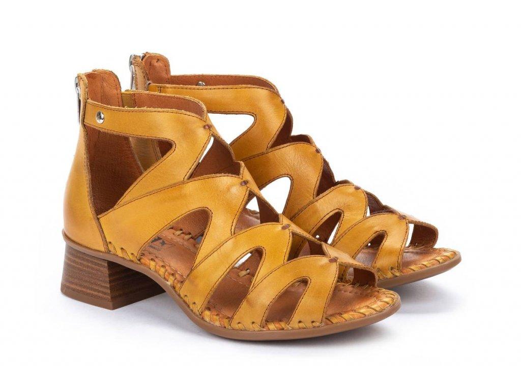 Žlté sandále w4g 1907 pk honey big