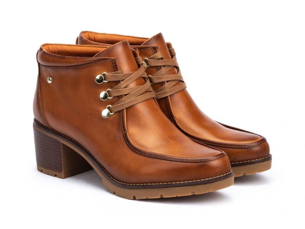 Kotníková obuv  Pikolinos  LLANES W7H-8512 BRANDY