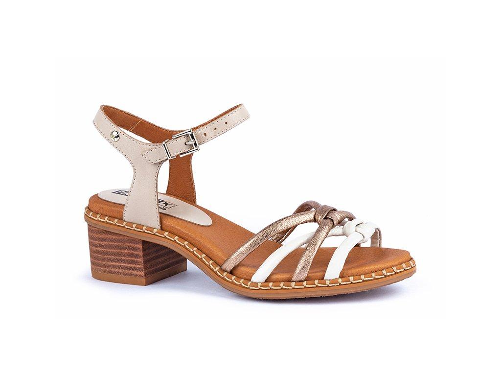 Sandále Pikolinos BLAN W3H 1739C2 PK MARFIL