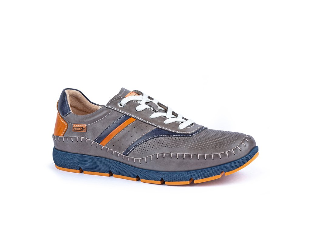Šedé topánky FUEN M4U 6048C1 PK DARK GREY