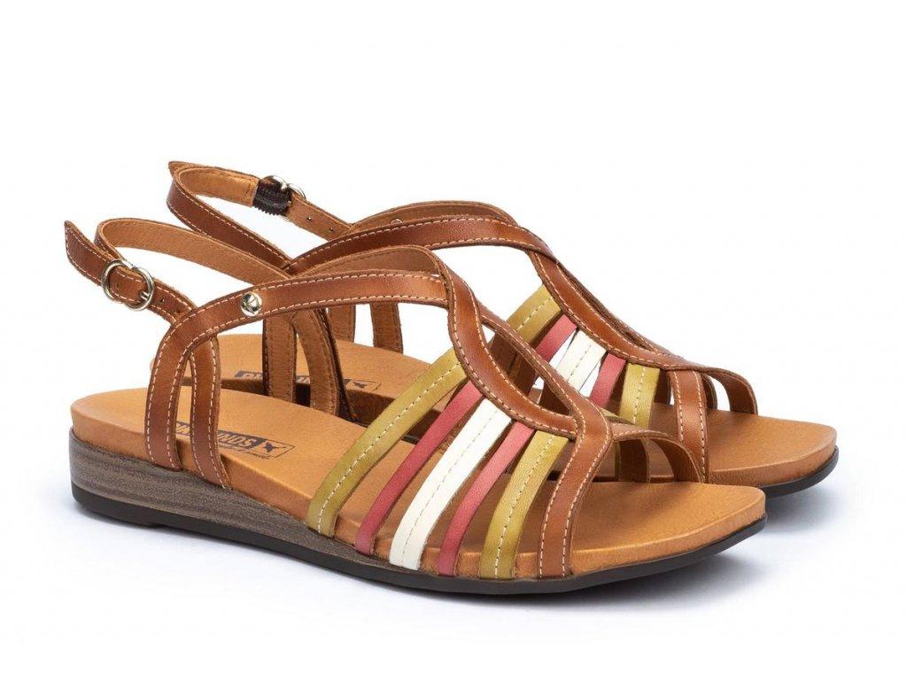Sandále Pikolinos ibiz w5n 0572c2 pk brandy big
