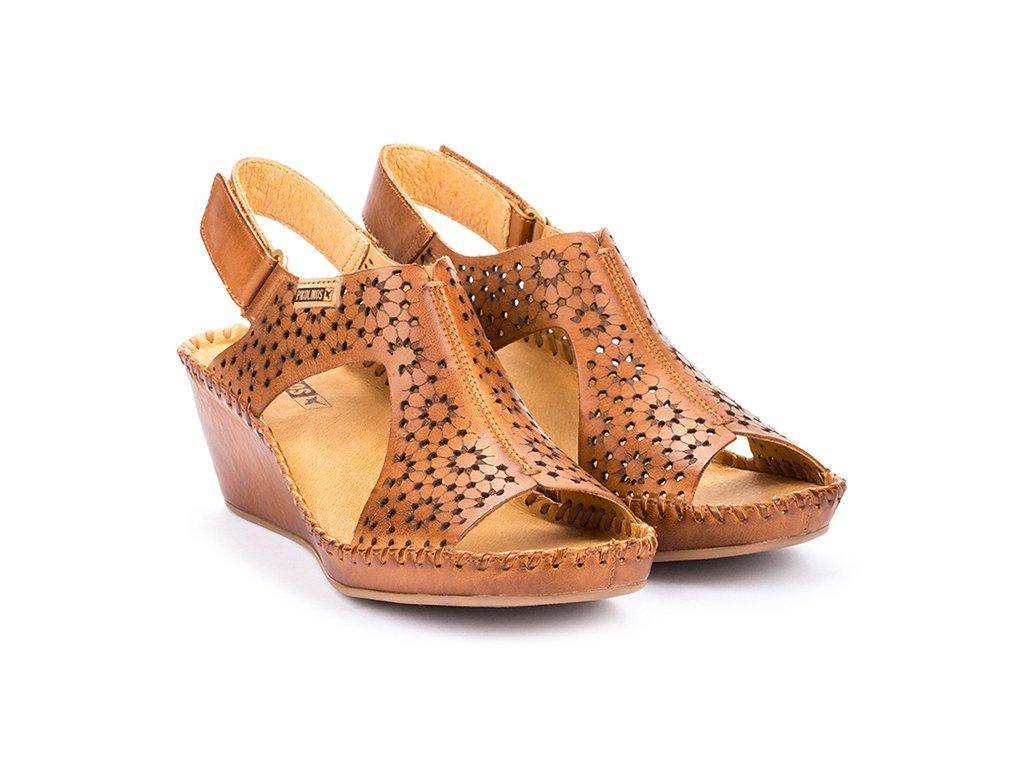 Hnedé sandále Pikolinos MARG 943 1690 PK BRANDY