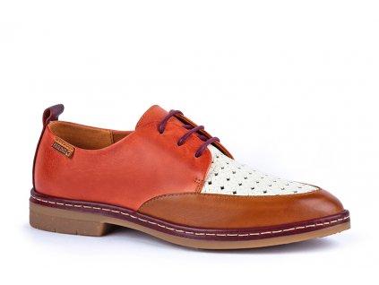 Topánky Pikolinos SANT W7C 4551C1 PK SCARLET