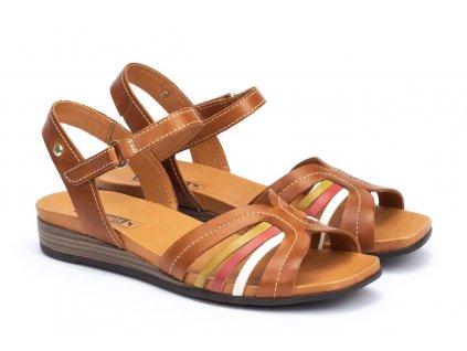 Sandále Pikolinos ibiz w5n 0559c1 pk brandy big